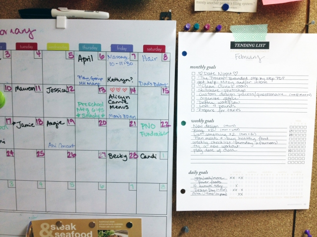 monthly planning for moms and entrepreneurs