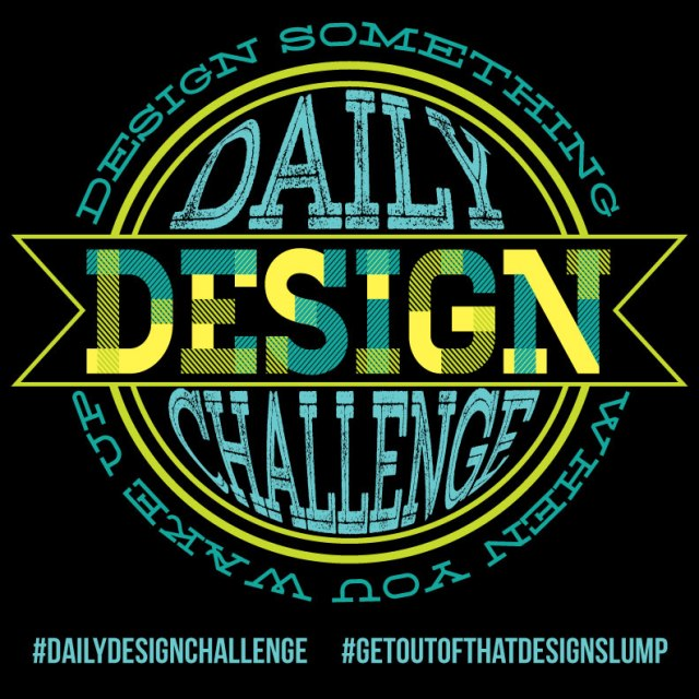 Daily Design Challenge by Fresh Paper Studios